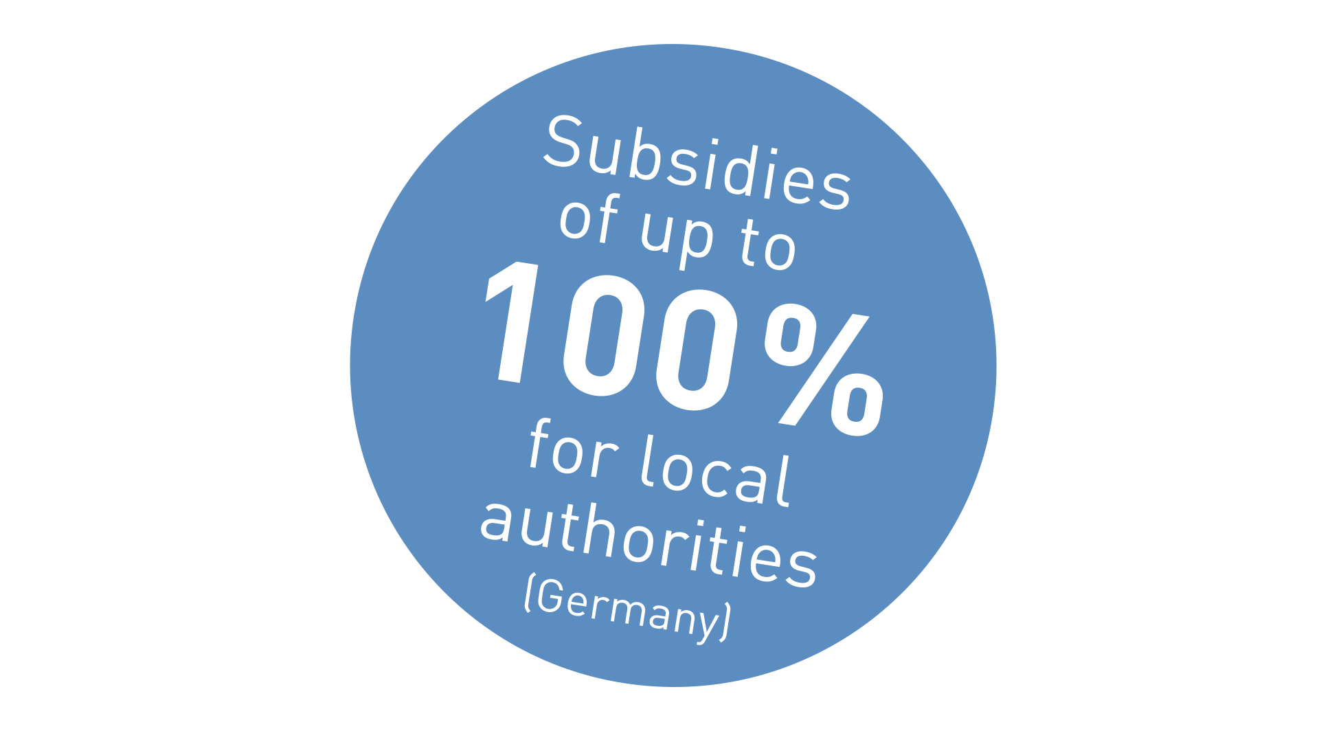 Subsidies for local authorities