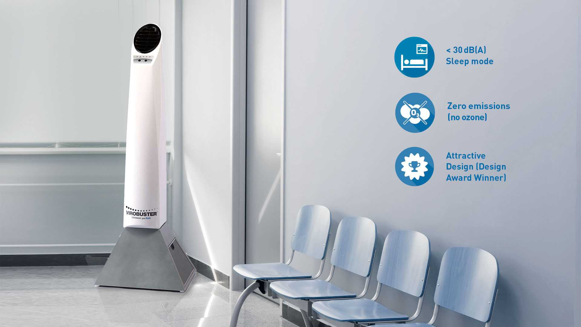 Air purification waiting room